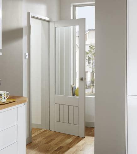 Howdens Interior Doors Primed Dordogne Glazed Door Stile Rail Doors Doors Joinery Howdens Joinery