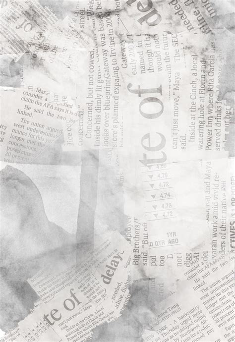 Paper From Newspaper - newspaper watercolor paper texture by vivvien on deviantart