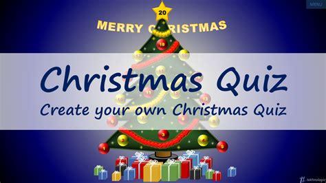 the christmas quiz tekhnologic