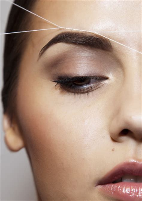 rough eyebrow hairs how to get the perfect eyebrows the body shop blog