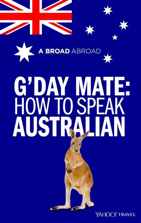 how to speak g day mate how to speak australian