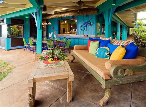 patio furniture hawaii hawaiian cottage style tropical patio hawaii by design interiors inc
