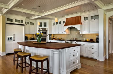cottage style kitchen island 40 kitchen island designs ideas design trends