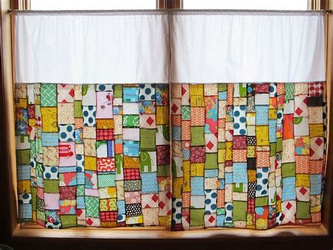 sunroom yoga patchwork curtains home decor pinterest patchwork