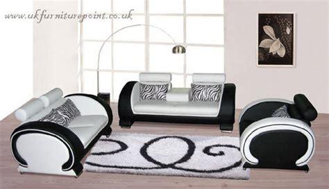 black and white italian leather sofas italian black and white 3 and 2seater leather sofa id