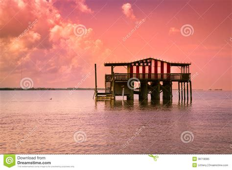 design graphics port richey fl stilt house editorial image image 38718085