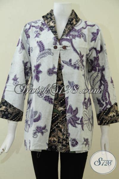 desain baju batik yang bagus baju batik modern desain keren kombinasi motif yang