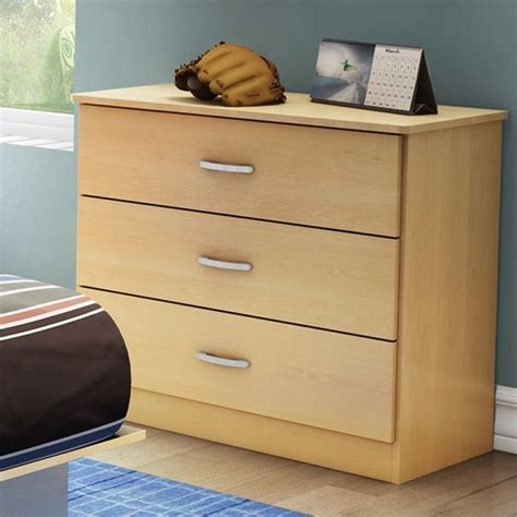 South Shore Libra Dresser by South Shore Libra 3 Drawer Dresser In Maple