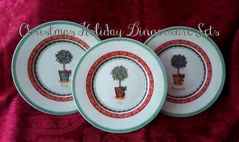best christmas holiday dinnerware sets seasonal table
