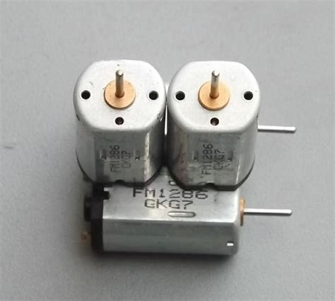 Handmade Electric Motor - 1v 6v solar electric motors small diy handmade miniature