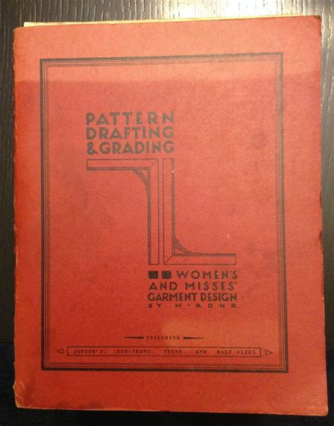 garment pattern grading books 1957 pattern drafting grading women s and misses