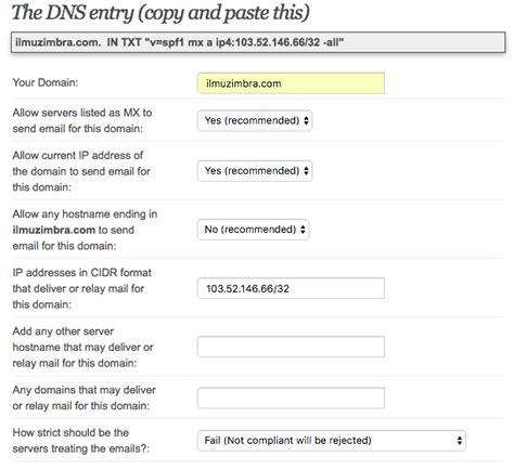 membuat group email di zimbra tips zimbra membuat dan validasi spf pada dns ilmuzimbra com