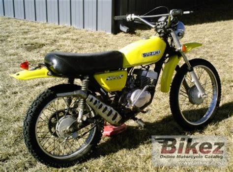 1974 Suzuki Ts 125 1974 Suzuki Ts 125 Specifications And Pictures