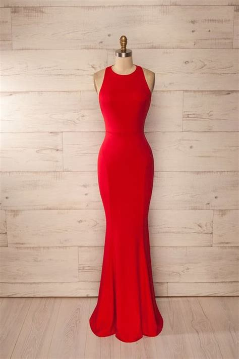 Kitchen Collections Stores by New Mermaid Red Prom Dress Elegant Prom Dress Long Prom