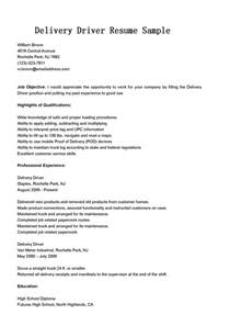 Driver Recruiter Sle Resume by Driver Resumes April 2014