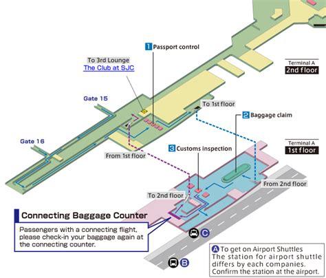 san jose terminal map sky web
