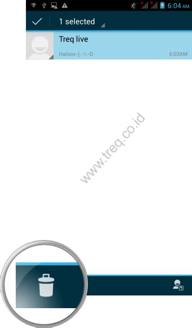 gambar format lembar pesan telepon pesan treq tablet dan smartphone android