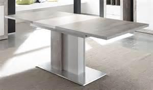 es tisch esstisch 160 x 90 cm betonoptik grau weiss matt 91 00486