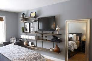 bedroom tv 30 best images about shelves on pinterest