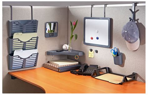 Office Cubicle Accessories Shelf by Officemate Verticalmate Cubicle Shelf Slate