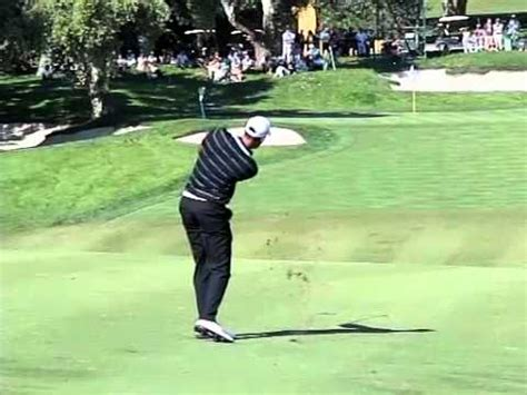 golf swing slow motion iron alvaro quiros golf swing iron slow motion down the