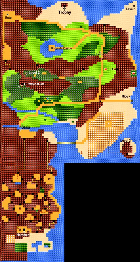 legend of zelda map walkthrough zelda 1 overworld map hot girls wallpaper