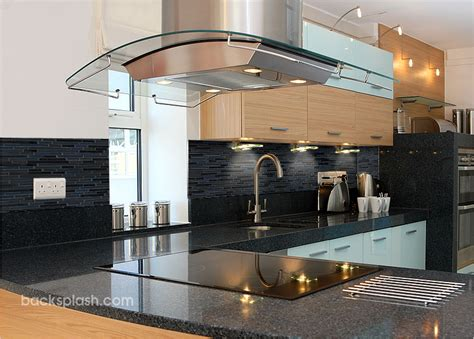 black glass tiles for kitchen backsplashes back splashes for kitchens black glass tile kitchen