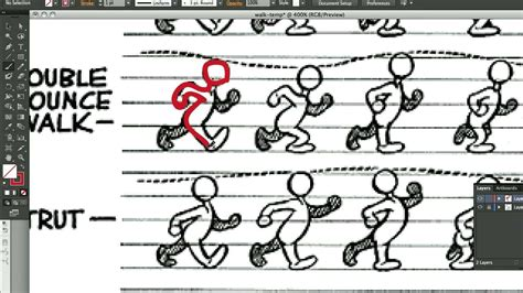 tutorial flash walk cycle how to animate a walking cycle in flash cs6 youtube