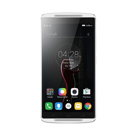jual lenovo vibe k4 note smartphone white harga kualitas terjamin blibli