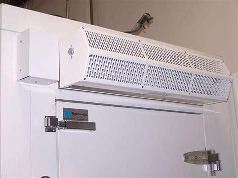 freezer air curtain walk in cooler air curtains curtron air curtain for walk