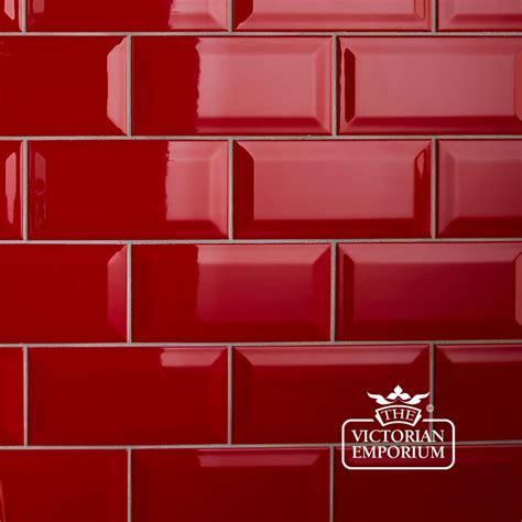 Wonderful Beveled Tiles Kitchen #4: Red-tiles-home-design.jpg