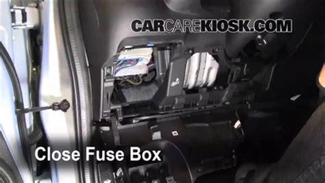interior fuse box location: 2009 2013 honda fit 2010