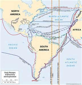 European Exploration Map by European Exploration Definition Amp Facts Britannica Com