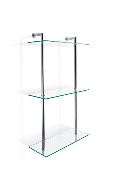 scaffale vetro scaffale in vetro a parete dw 016 decor walther