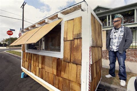 tiny homes for the homeless now attack in california