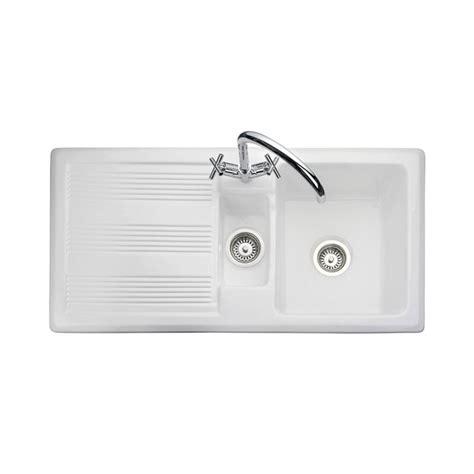 Rangemaster Portland 1 5 Bowl Ceramic Sink Sinks Taps Com Kitchen Sinks Portland Oregon