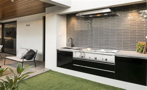 alfresco kitchen designs eating out the west australian