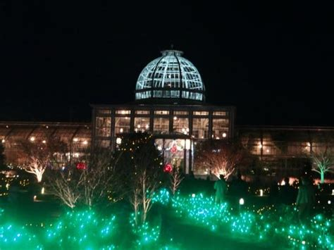 christmas lights picture of lewis ginter botanical