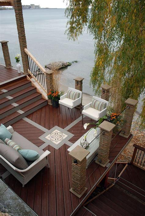 Patio Design Ontario 13 Best Waterfront Designs Images On Deck