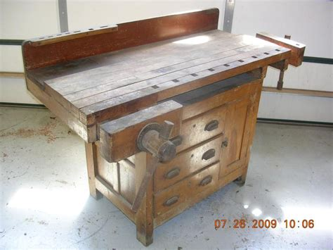 woodwork bench for sale old wooden workbenches for sale woodproject