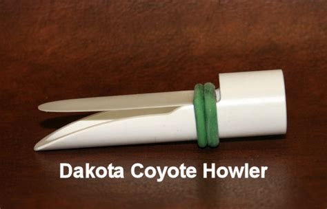 Handmade Coyote Calls - by steve thompson