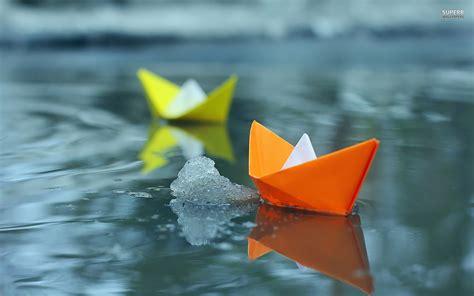 cool paper boats paper boat wallpaper 13669 hdwpro