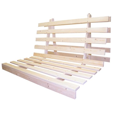 wood futon wooden futon bed base wood sofabed seat frame in 3 sizes