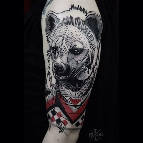 hyena tattoo 21 loving hyena tattoos tattoodo