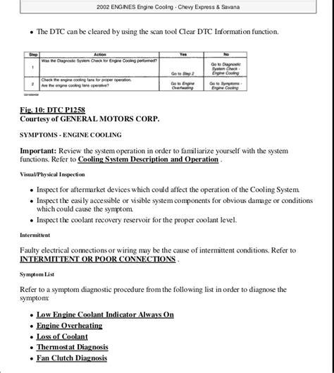 2002 express savana bi fuel repair shop manual supplement 1999 gmc savana service repair manual