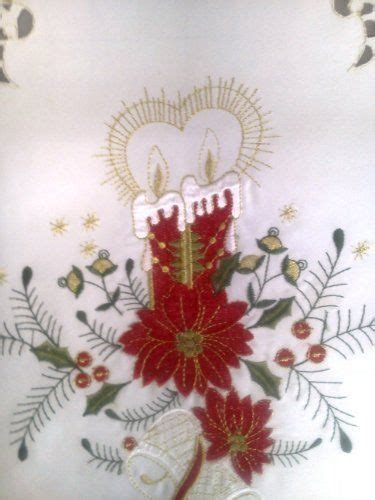 christmas poinsettia fireplace mantel scarf 51 best kitchen dining table runners images on