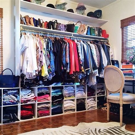 aimee song s closet the use of cubbies is an inexpensive