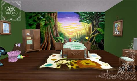 life marketplace ar cozys jungle kids bedroom set discounted