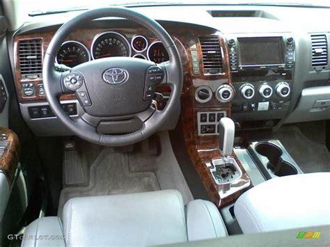 Toyota Sequoia Interior Colors by Graphite Interior 2008 Toyota Sequoia Platinum 4wd Photo