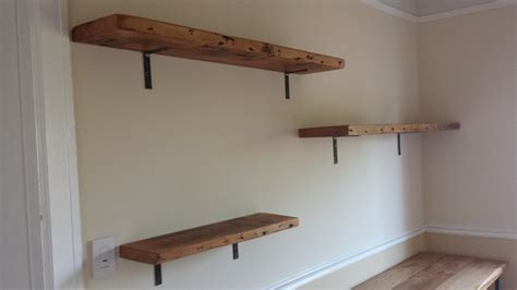 buy reclaimed wood wall shelf from beaver